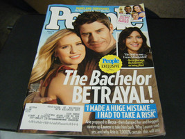 People Magazine - The Bachelor Betrayal Cover - March 19, 2018 - $4.20