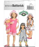 Butterick Sewing Pattern B5018 Size/Taille CDD (2-3-4-5) Children's/Girl... - $18.76