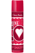 Lip Smacker CHERRY HEARTS Lip Gloss Balm Stick Love Kisses Hearts Valentines - $3.75