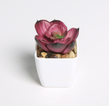 Erxiaobao Lovely Artificial Plants with Pot Simulation Succulents Mini B... - $6.34
