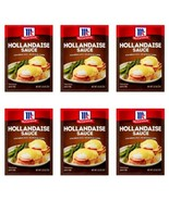6 McCormick Hollandaise Sauce Seasoning Mix 1.25oz Packets Expiration 7/22 - $25.97