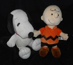 Peanuts KOHL'S Cares pour Enfants Snoopy & Charlie Marron Animal en Peluche - $29.09