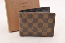 LOUIS VUITTON Monogram Damier Portefouille Multivable Wallet N60895 Auth... - $240.00