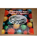 The Bethlehem Choir Organ & Chimes Christmas Favorites Phonograph Record... - $9.99