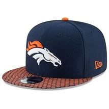Era Denver Broncos 9Fifty 2017 On Field Sideline Snapback Hat - $29.59