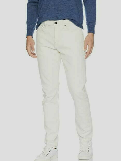 Goodthreads Men's Athletic-Fit Jean, White Vintage, Size 36W x 31L UNOPENED NEW