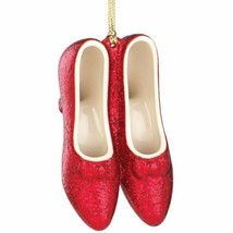 Lenox Ruby Slippers Ornament Dorothy Wizard Of Oz No Place Like Home Hol... - $31.68