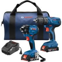 Bosch GXL18V-26B22 18-Volt 2-Tool Combo Kit - $250.29