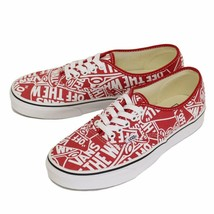 Vans Mens U Authentic OTW Repeat RED True White Size MENS US 10.5 12 - $60.76+