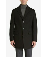 Bar III Men's Slim-Fit Overcoat Black 42R MSRP $350 - $64.30
