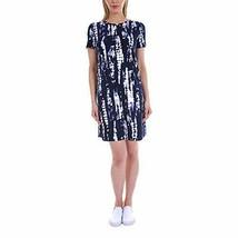 ELLEN TRACY Ladies' Pima Cotton Dress   (Medium, Mood IND Tie Dye) - $11.99
