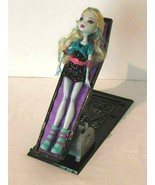 Monster High Lagoona Blue Doll and Coffin Shaped Purple Bed Tilting Mattel  - $17.99