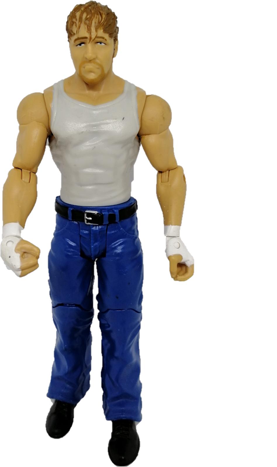 Dean Ambrose WWE Wrestling Action Figure Mattel Signature Series 6 Jon Moxley