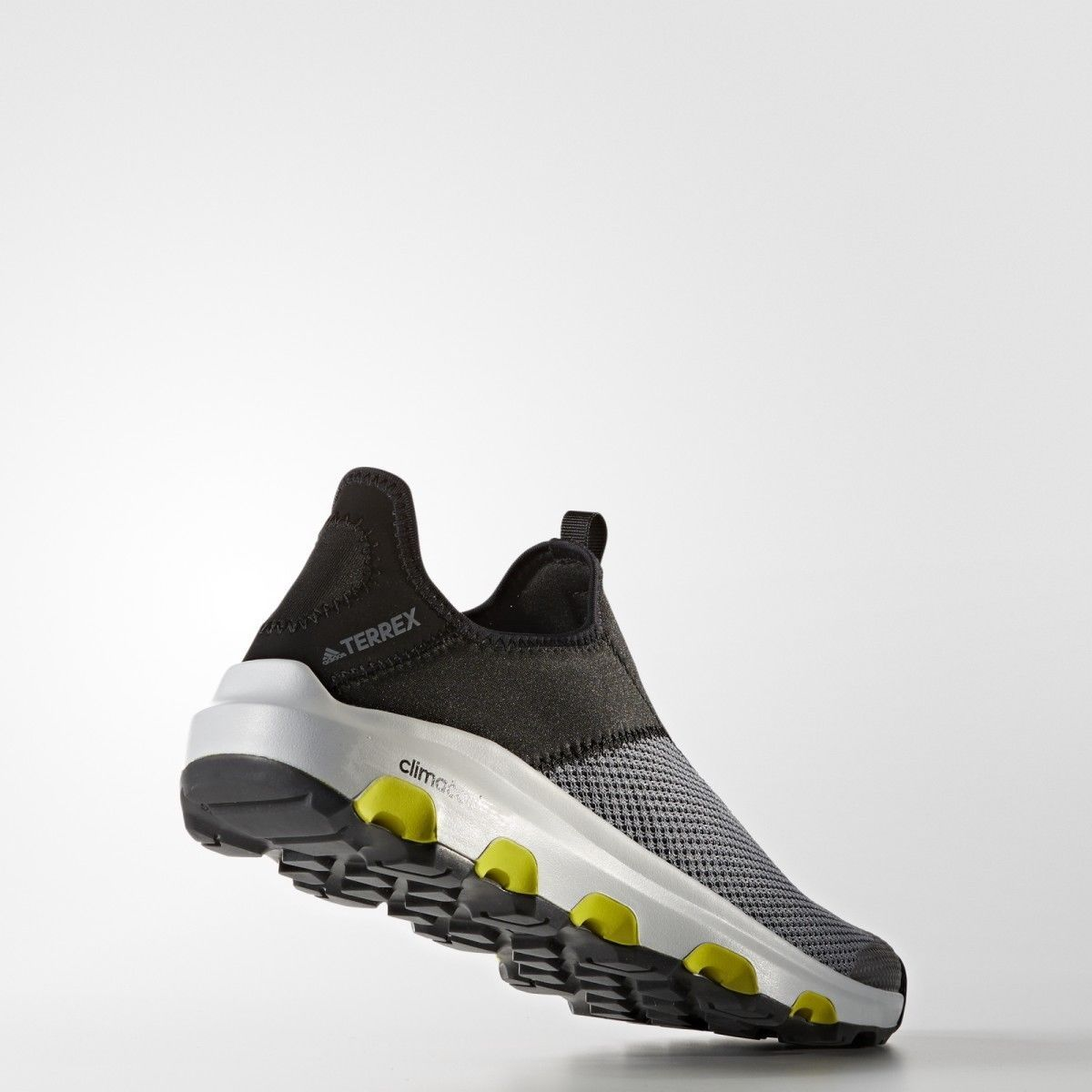 adidas Mens Terrex Traxion Climacool Water Shoes Grey/Black