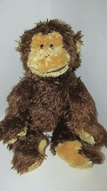 TY BEANIE BUDDY Buddies MONKEY Chimpanzee BONSAI 2003 Plush Chimp Tysilk - $17.81