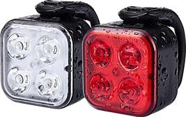 Teshudi Bike Light Set, Rechargeable Bike Lights Front and - $19.38