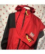 Vintage 1992 Marlboro Adventure Team Mens XL Windbreaker Suit Jacket Pan... - $58.80