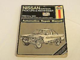 Haynes Manuels Nissan / Datsun Pick-Up & Pathfinder 1980-1997 Auto Répar... - $16.05