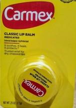 2Pack - Carmex Classic Lip Balm Medicated 0.25 oz EX- 2022 - $6.79