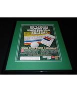 1987 Vantage Cup Senior PGA Framed 11x14 ORIGINAL Vintage Advertisement - $32.36