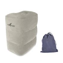 Footrest Travel Pillow Inflatable Rest Leg Foot Portable Cushion -3 laye... - €41,41 EUR