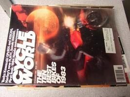 Cycle World Magazine November 1983 - $6.93