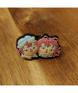 Shoe-Doodle Raggedy Ann And Andy Shoe Charm for Crocs Shoe Charms - $6.06