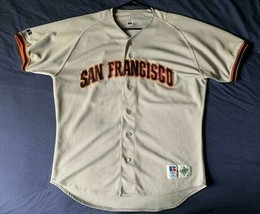Men's vintage 90's Russell Athletic MLB San Francisco Giants jersey size 48 - $109.99