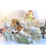 Angels Figurines Set, Cherubs Decor, Christian Guardians Collectible Sta... - $29.99