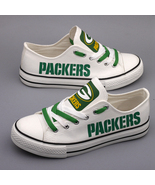 packers shoes womens packers sneakers weddings shoes green bay fans chri... - $59.99