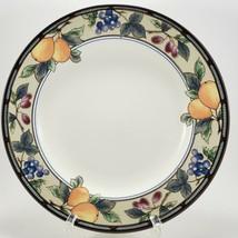 "Mikasa Intaglio Garden Harvest Salad Plate 8-3/8"" Stoneware Luncheon Fruit - $7.92"
