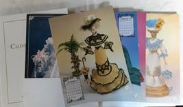 Annie's Calendar Bed Doll Society Crochet 1996 Bridal Trousseau Collecti... - $24.25