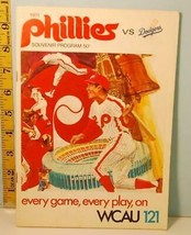 1971 Philadelphia Phillies Baseball Scorecard vs Los Angeles Dodgers - G... - $4.94