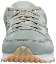 Saucony Originals Mens Green Nubuck  Leather DXN Trainer CL Running Sneaker Shoe image 2