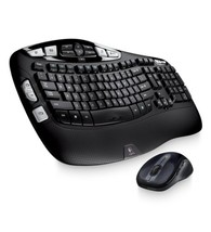 Logitech Wireless Wave Combo Mk550 With Keyboard and Laser Mouse - $1.183,50 MXN