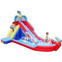 Children Water Slide Large Inflatable Pirate Boat Pool Waterpark Yard Su... - $407.05