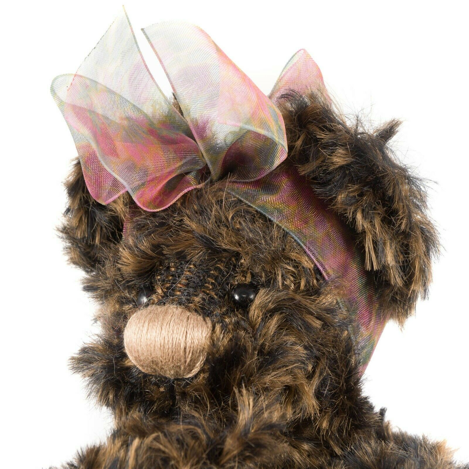 """Ganz Cottage Collectibles Lexi Teddy Bear 11"""" First Edition Scarf Tag CC1801 image 3"""