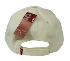 NEW NWT LEVI'S RED TAB MEN'S CLASSIC COTTON ADJUSTABLE BASEBALL HAT CAP KHAKI image 5
