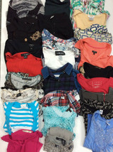 Bulk Lot wholesale Resell 25 pc S XS M Womens Clothing mixed brands tops... - $74.24