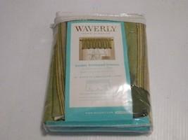 Waverly 15-in L Sage Home Classics Box pleat Valance Item#59369 Model#10... - $16.71