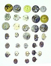 ELGIN Vintage Watch Movement Verieties To Choose For parts or replacement - $7.70+
