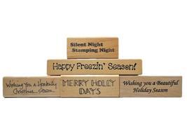 Christmas Holiday Rubber Stamp Bundles image 3
