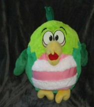 "Jay At Play Stuffed Plush Kookoo Koo Koo Birds Green Pink Stripe 13"" 15"" - $39.59"