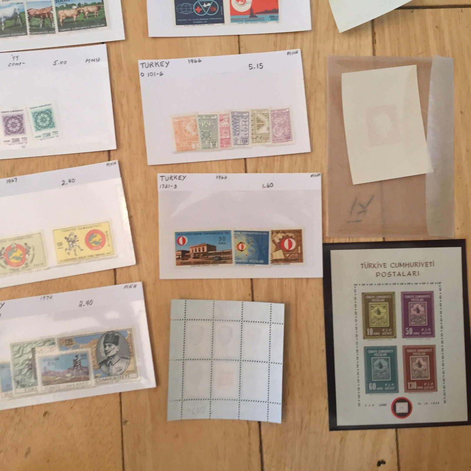 G27 LOT Turkey Stamps loose and souvenir Mevlana Kalkinan Izmir Turkiye science
