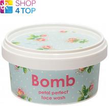 Petal Perfect Face Wash 210 Ml Bomb Cosmetics Geranium Rose Natural New - $12.46
