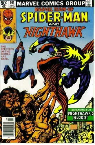MARVEL TEAM-UP #101: SPIDER-MAN AND NIGHT HAWK [Paperback] [Jan 01, 1981] J.M. D