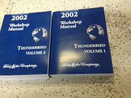2002 Ford Thunderbird Servizio Riparazione Negozio Officina Manuale Set ... - $197.51