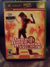 Dance Dance Revolution Ultramix 3 Xbox Live Microsoft 2005 Video Game Co... - $9.50