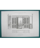 ARCHITECTURE PRINT : PARIS Cut Glass Vases Crystal Store Interior - $16.87