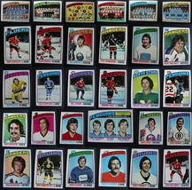1976-77 Topps Hockey Cards Complete Your Set You U Pick From List 133-264 - $2.99+